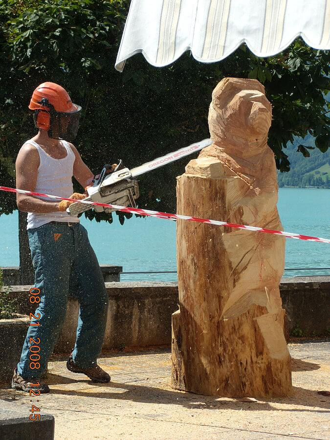 how to carve a bear