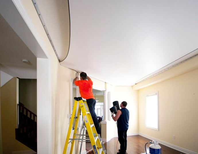how to sand painted drywall