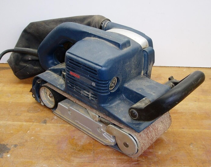 What is a belt sander used for