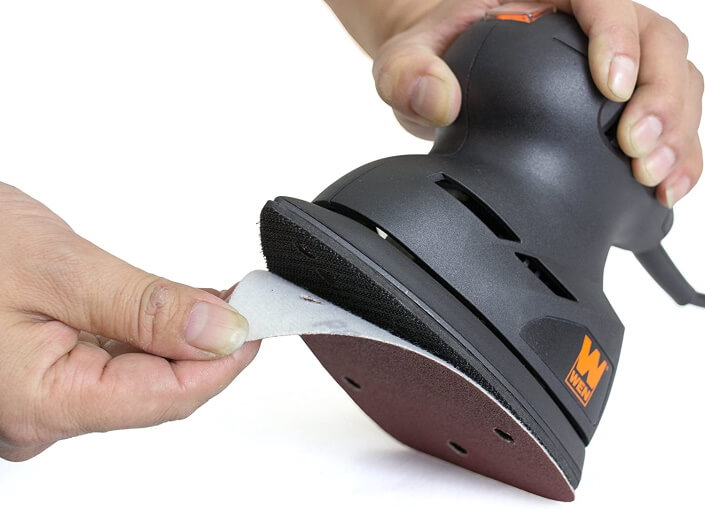what is a detail sander used for