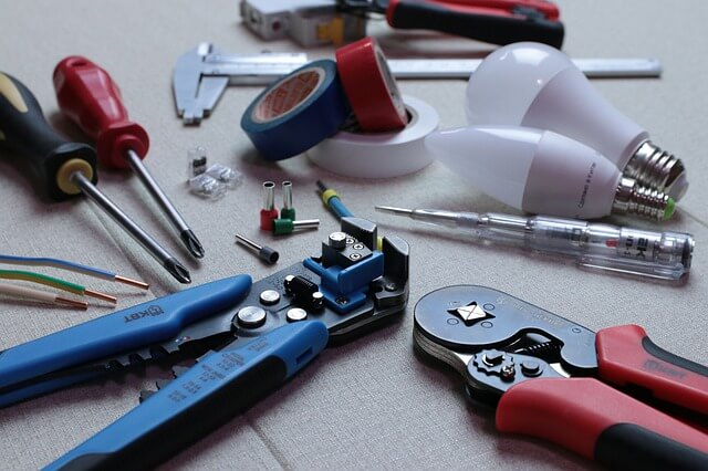 basic maintenance of electrical tools and equipment