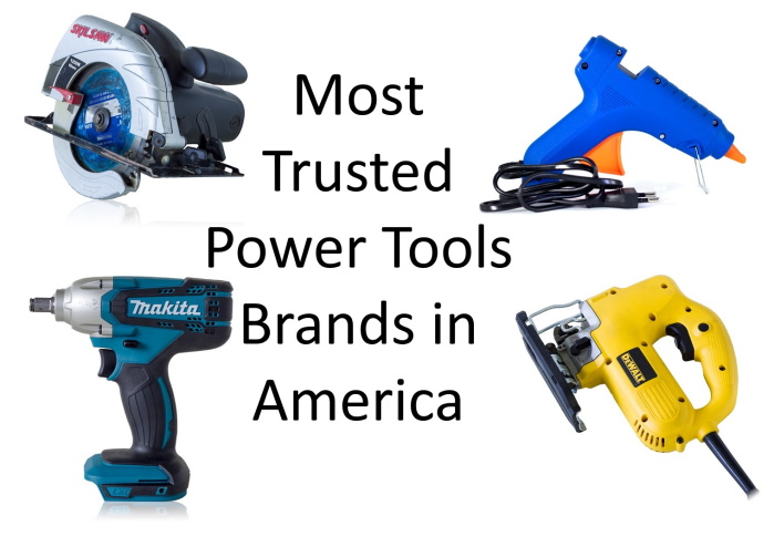 most trusted power tools brands in america