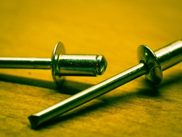 common uses for rivets