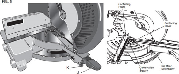 how to calibrate a miter saw 2