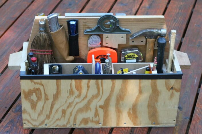 how to organize your toolbox