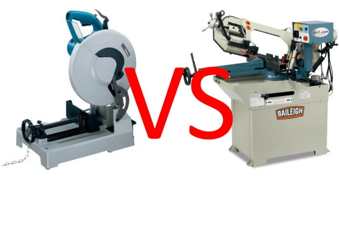 comparison between cold saw and band saw
