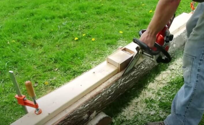 the cheapest homemade chainsaw mill