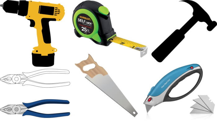 a basic tool set for every homeowner