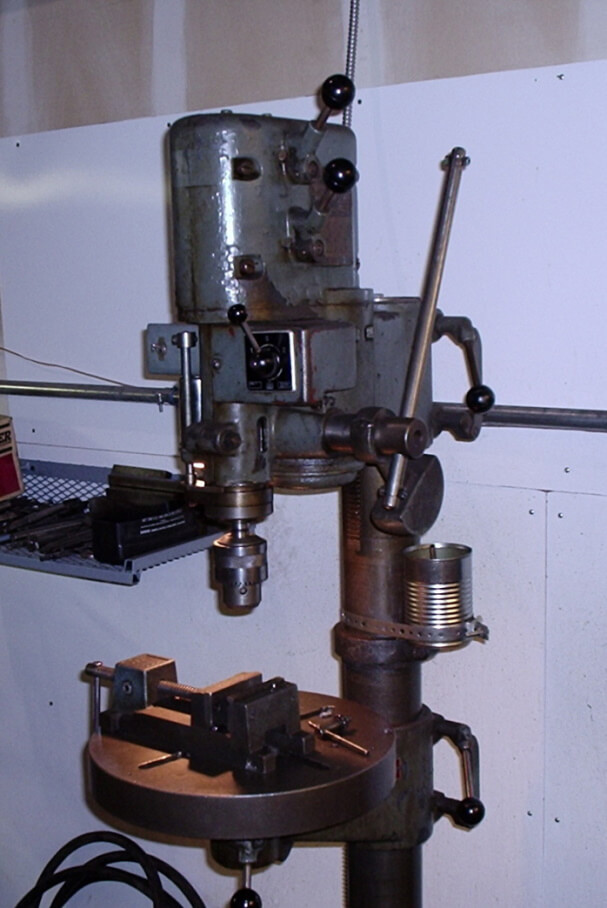 how do you keep a drill press from rusting
