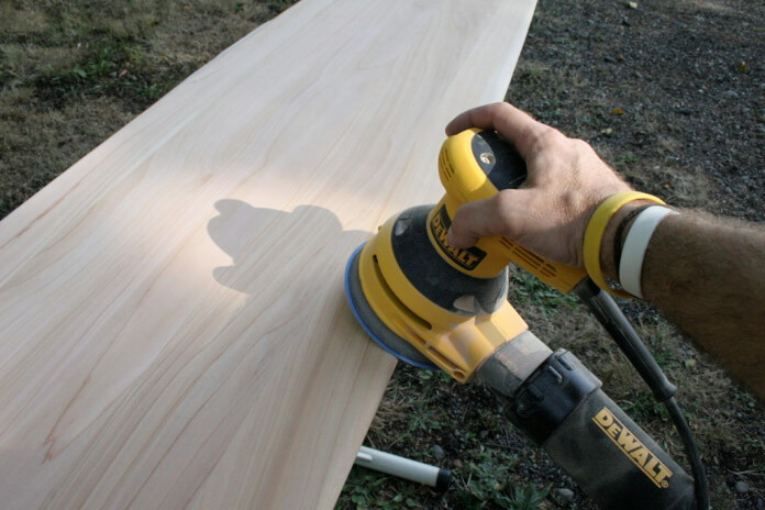 how do you know when sanding is done