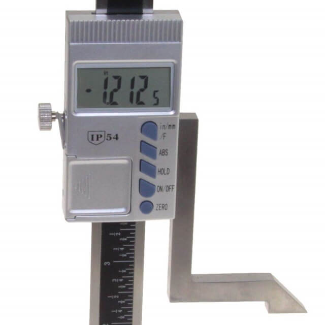 how to use height gauge with dial indicator