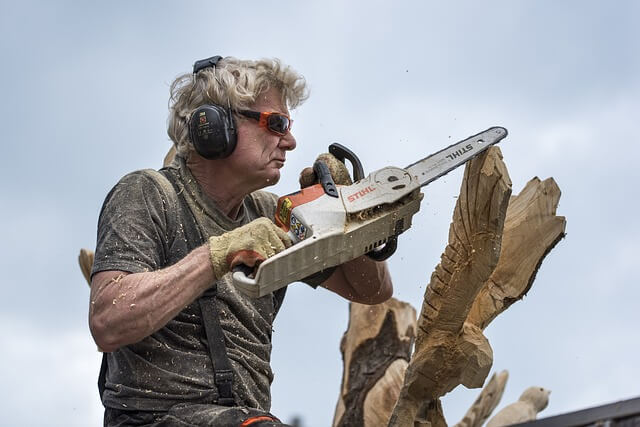 how much does a chainsaw carving cost