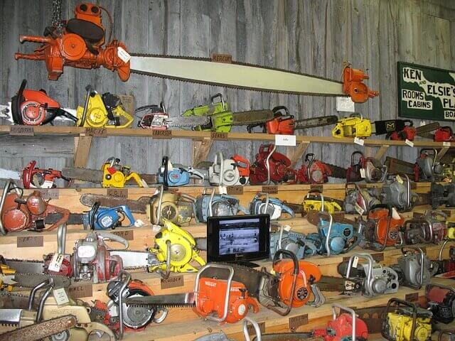 history and evolution of chainsaws